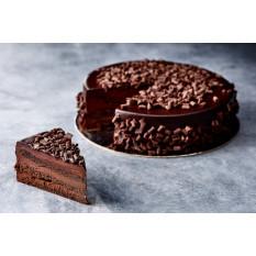 Schokoladen-Schlamm-Kuchen (8 Zoll)