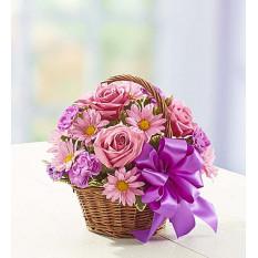 Korb mit Blüten (klein)