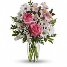 Was für ein Leckerbissen mit Rosen