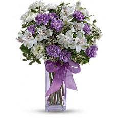Lavendel-Lachen-Blumenstrauß (Standard)
