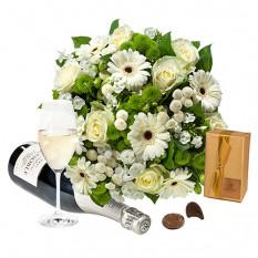 Einfach Weißer Blumenstrauß und mehr