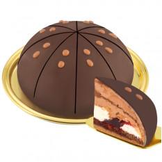 Paris Dessert Trüffel Kuchen