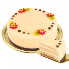 Lübecker Dessert Marzipan Kuchen