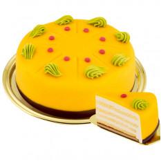 Nachtisch-Passionsfrucht-Kuchen