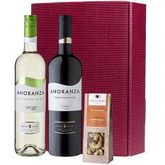 Gourmet-Set spanischer Wein