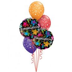 Sternschnuppen Glückwunsch Blumenstrauß