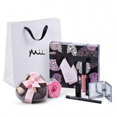 Mii Luxuriöses Schminkset mit Godiva & Rose
