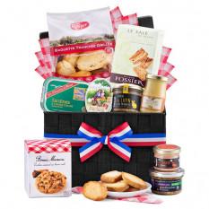 Französischer Gourmet-Picknickkorb