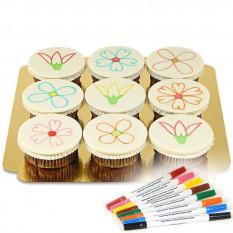 Cupcakes und Essensstifte