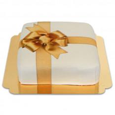 weißer Kuchen Geschenkkarton