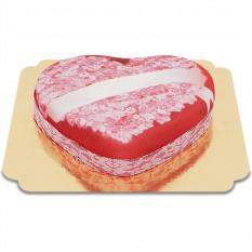 Kuchen Amour Herz Nachricht (Medium)