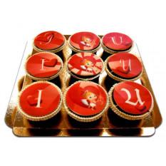 Ich liebe U Cupidon Cupcakes