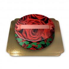 Rote Rosen Kuchen (Mittel)