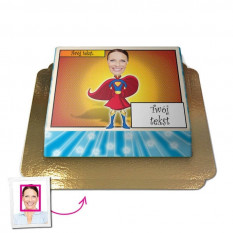 Superfrau - Face-Cake (Medium)
