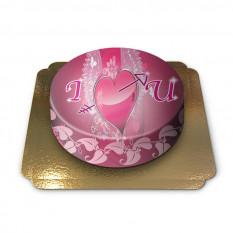 Kuchen ich liebe dich (klein)