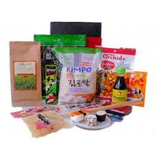 Japanischer Sushi-Geschenkkorb