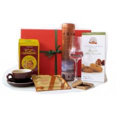 Caffé Italia Kaffeegeschenk mit Grappa