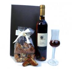 Vin Santo Toscana und Cantuccini