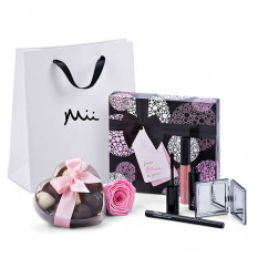 Mii Luxuriöses Make Up Set mit Godiva & Rose