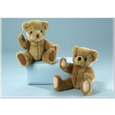 Teddybär Brown oder Brown-Flecked