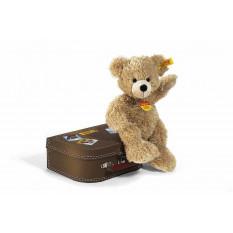 Teddybär Fynn im Koffer 1