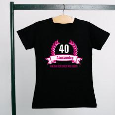 T-Shirt zum Geburtstag - So gut wie heute