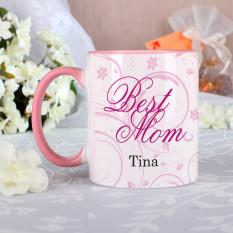 Cup deine Mutter mit Schokoladenfüllung