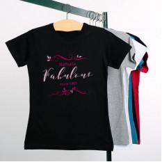 Geburtstags-T-Shirt für Damen - Fabelhaft seit ...