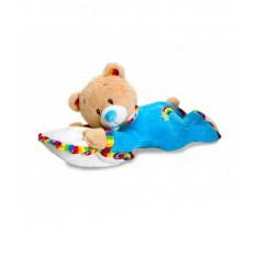 Baby-Teddybär-Umarmung auf Auflage