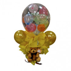 Ballons in einem Ballon Bouquet