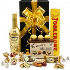 Baileys Irish Cream und Schokoladen-Korb