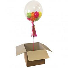 Blase in einer Box