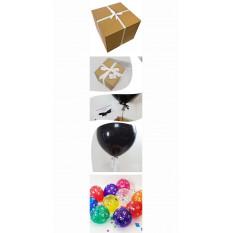 Geburtstag Pop mich Ballon in einer Box