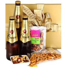 Flüssiges Gold - Kostenlose Schokolade Macadamias - Geschenkkorb