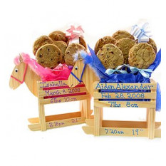 Schaukelpferd Cookie Bouquet (1 Dutzend)