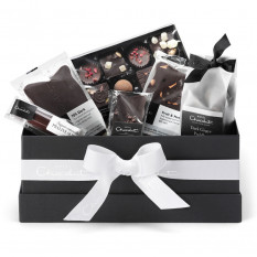 Die dunkle vegane Chocolate Hamper Kollektion