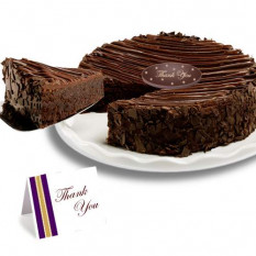 "Triple Chocolate Enchanted Brownie ""Danke"" Kuchen"