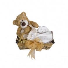 Honigbär - Baby-Korb