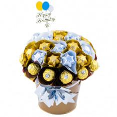 Süßer Geburtstag - Schokoladenkorb