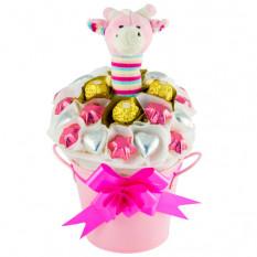 Weiches N Süßes Mädchen - Schokoladenkorb