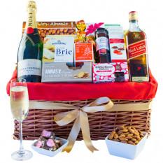 Party-Paket - Gourmet-Geschenkkorb