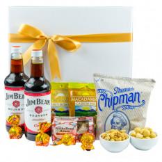 Bourbon & Bites - Gourmet Geschenkkorb