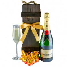 Magische Moet - Gourmet Champagner Geschenkkorb
