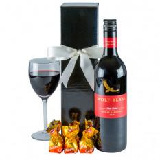 Robust Rot - Rotwein-Geschenkkorb