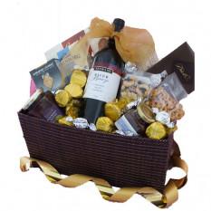 Gourmet Essentials - Geschenkkorb