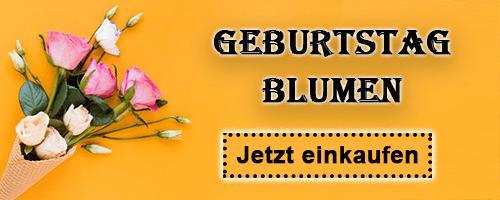 Geburtstagsblumen Lieferung nach Deutschland