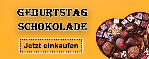 Geburtstagsschokoladenlieferung nach Deutschland