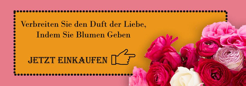 Blumenlieferung nach Deutschland